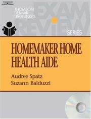 Cover of: Homemaker Home Health Aide Exam Review (Thomson Delmar Learning's Exam Review)