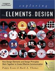 Cover of: Exploring The Elements of Design (Design Exploration Series)