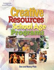 Cover of: Creative Resources for School-Age Programs