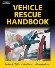 Cover of: Vehicle Rescue Handbook