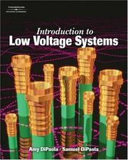 Cover of: Introduction to Low Voltage Systems