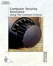 Cover of: Computer Security Assurance