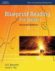 Cover of: Blueprint Reading for Welders (Delmar Learning Blueprint Reading)