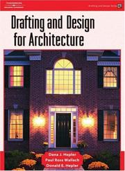 Cover of: Drafting and Design for Architecture