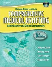 Cover of: Thomson Delmar Learning's Comprehensive Medical Assisting