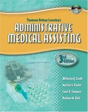 Cover of: Thomson Delmar Learning's Administrative Medical Assisting