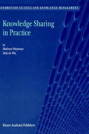 Cover of: Knowledge Sharing in Practice (Information Science and Knowledge Management)