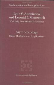 Cover of: Asymptotology