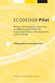 Cover of: ECODESIGN Pilot