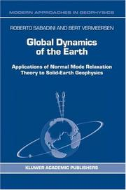 Cover of: Global Dynamics of the Earth