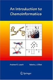 Cover of: An Introduction to Chemoinformatics