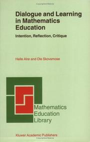 Cover of: Dialogue and Learning in Mathematics Education