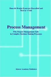 Cover of: Process Management