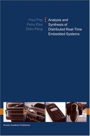 Cover of: Analysis and Synthesis of Distributed Real-Time Embedded Systems