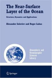 Cover of: The Near-Surface Layer of the Ocean