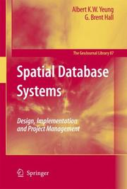 Cover of: Spatial Database Systems