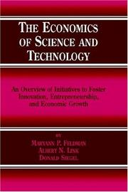 Cover of: The Economics of Science and Technology