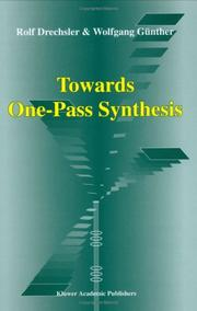 Cover of: Towards One-Pass Synthesis