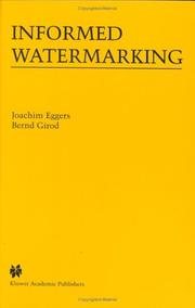 Cover of: Informed watermarking