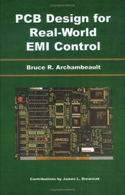Cover of: PCB Design for Real-World EMI Control (The International Series in Engineering and Computer Science)