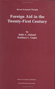 Cover of: Foreign Aid and the Twenty-First Century (Recent Economic Thought)