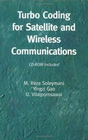 Cover of: Turbo Coding for Satellite and Wireless Communications (The International Series in Engineering and Computer Science)
