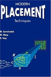 Cover of: Modern Placement Techniques