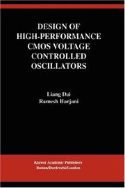 Cover of: Design of Higher-Performance CMOS Voltage Controlled Oscillators (The Springer International Series in Engineering and Computer Science)