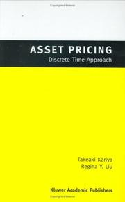 Cover of: Asset Pricing