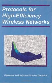 Cover of: Protocols for High-Efficiency Wireless Networks