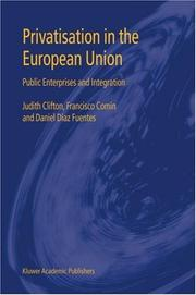 Cover of: Privatisation in the European Union