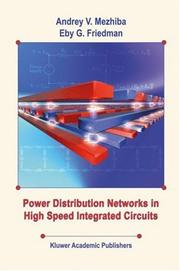Cover of: Power Distribution Networks in High Speed Integrated Circuits