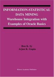 Cover of: Information-Statistical Data Mining