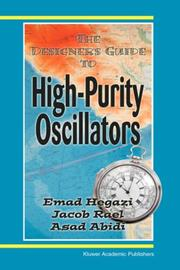 Cover of: The Designer's Guide to High-Purity Oscillators (The Designer's Guide Book Series)