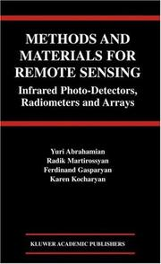 Cover of: Methods and Materials for Remote Sensing