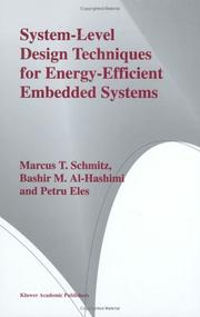 Cover of: System-Level Design Techniques for Energy-Efficient Embedded Systems