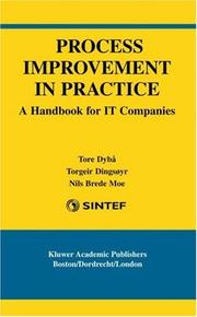 Cover of: Process Improvement in Practice