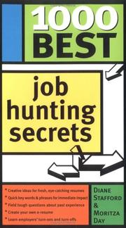 Cover of: 1000 Best Job Hunting Secrets