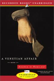 Cover of: A Venetian Affair