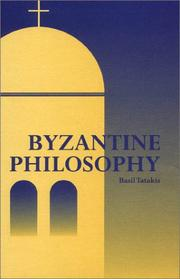 Cover of: Byzantine Philosophy