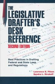 Cover of: Legislative Drafter's Desk Reference