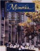 Cover of: A Book of Memories