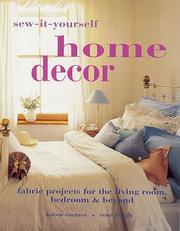 Cover of: Sew-It-Yourself Home Decor