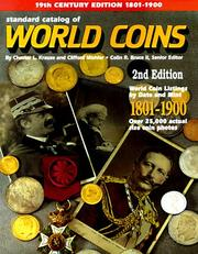 Cover of: Standard Catalog of World Coins, 1801-1900 (2nd ed)
