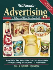 Cover of: Warman's Advertising
