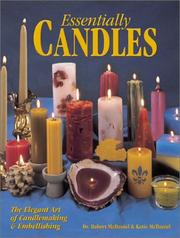Cover of: Essentially Candles