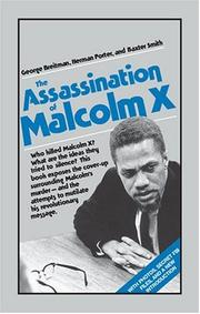 Cover of: The Assassination of Malcolm X
