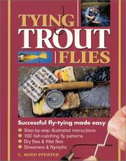 Cover of: Tying Trout Flies