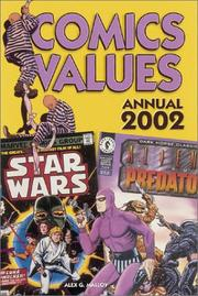 Cover of: Comics Values Annual 2002 (Comics Values Annual, 2002)