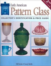 Cover of: Early American Pattern Glass